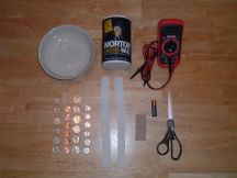 Coin Battery Project Supplies