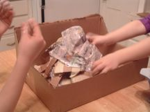 how-to-make-a-volcano-paper-mache-step-6