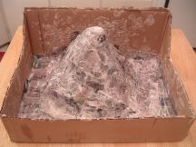 how-to-make-a-volcano-paper-mache-step-7