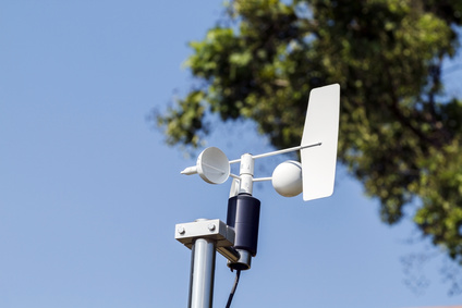 Anemometer and Devices meteorological station